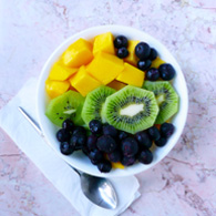 Joyful Fruit Salad, Vegan, Paleo