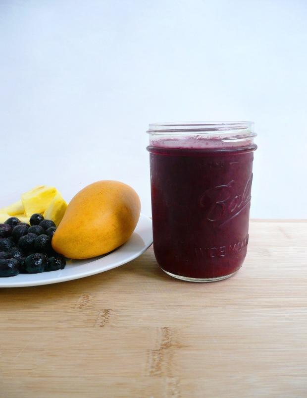 blueberry smoothie 1