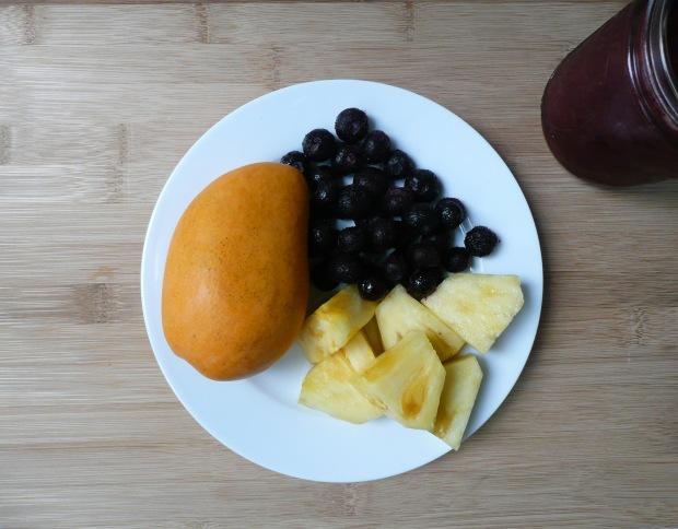 blueberry smoothie 2