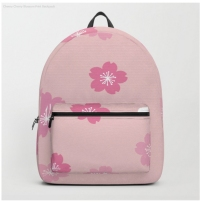 cherry pink backpack